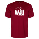 Syntrel Performance Cardinal Tee-WJU