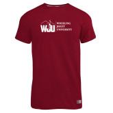 Russell Cardinal Essential T Shirt-WJU