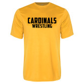 Performance Gold Tee-Wrestling