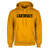 Gold Fleece Hoodie-Cardinals