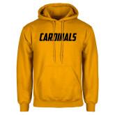 Gold Fleece Hoodie-Cardinals