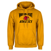 Gold Fleece Hoodie-Wheeling Jesuit Athletics