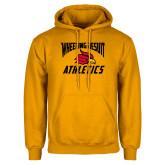 Gold Fleece Hoodie-Wheeling Jesuit Athletics