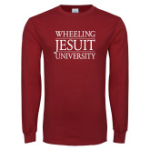 Cardinal Long Sleeve T Shirt-Wheeling Jesuit University