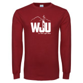 Cardinal Long Sleeve T Shirt-WJU