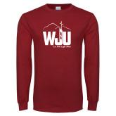 Cardinal Long Sleeve T Shirt-WJU