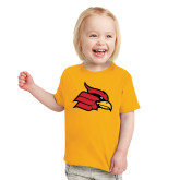 Toddler Gold T Shirt-Cardinal