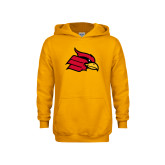 Youth Gold Fleece Hoodie-Cardinal