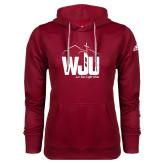 Adidas Climawarm Cardinal Team Issue Hoodie-WJU