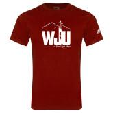 Adidas Cardinal Logo T Shirt-WJU
