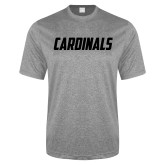 Performance Grey Heather Contender Tee-Cardinals