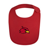 Red Baby Bib-Primary Mark