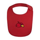 Red Baby Bib-Cardinal