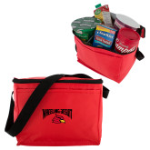 Six Pack Red Cooler-Wheeling Jesuit