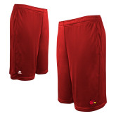 Russell Performance Red 10 Inch Short w/Pockets-Cardinal