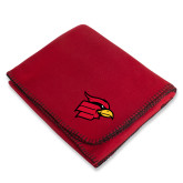 Red Arctic Fleece Blanket-Cardinal