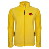 Fleece Full Zip Gold Jacket-Cardinal