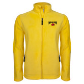Fleece Full Zip Gold Jacket-Wheeling Jesuit