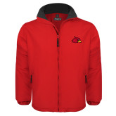 Red Survivor Jacket-Cardinal