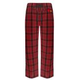 Red/Black Flannel Pajama Pant-Cardinal