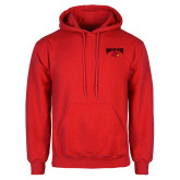 Red Fleece Hoodie-Wheeling Jesuit