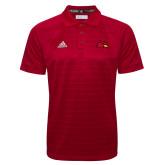 Adidas Climalite Red Jacquard Select Polo-Cardinal