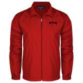 Full Zip Red Wind Jacket-Wheeling Jesuit