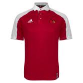 Adidas Modern Red Varsity Polo-Cardinal