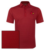 Columbia Red Omni Wick Sunday Golf Polo-Cardinal
