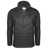 Columbia Mighty LITE Charcoal Jacket-Cardinal