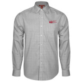 Red House Grey Plaid Long Sleeve Shirt-WJU