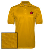 Gold Dry Mesh Polo-Cardinal