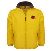 Gold Survivor Jacket-Cardinal