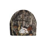 Mossy Oak Camo Fleece Beanie-Cardinal