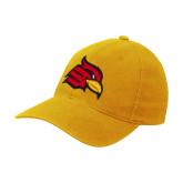 Gold Flexfit Mid Profile Hat-Cardinal