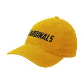 Gold OttoFlex Unstructured Low Profile Hat-Cardinals