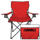 Deluxe Red Captains Chair-Cardinals