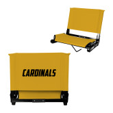 Stadium Chair Gold-Cardinals