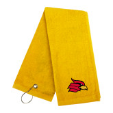 Gold Golf Towel-Cardinal