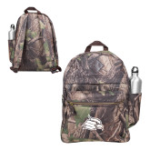 Heritage Supply Camo Computer Backpack-Cardinal