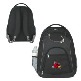 The Ultimate Black Computer Backpack-Cardinal