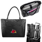 Sophia Checkpoint Friendly Black Compu Tote-Cardinal