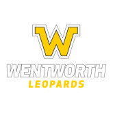 Large Decal-W Wentworth Leopards Stacked