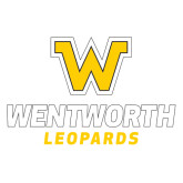 Extra Large Decal-W Wentworth Leopards Stacked