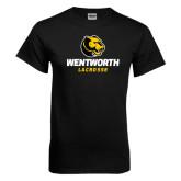Black T Shirt-Lacrosse