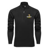 Syntrel Black Interlock 1/4 Zip-Official Logo