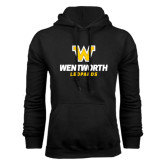 Black Fleece Hoodie-W Wentworth Leopards Stacked