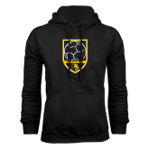 Black Fleece Hoodie-Soccer Shield Design
