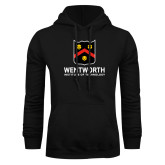 Black Fleece Hoodie-Shield Logo