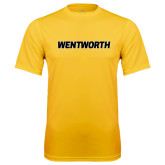 Performance Gold Tee-Wentworth